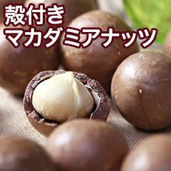 殻付マカダミアナッツ