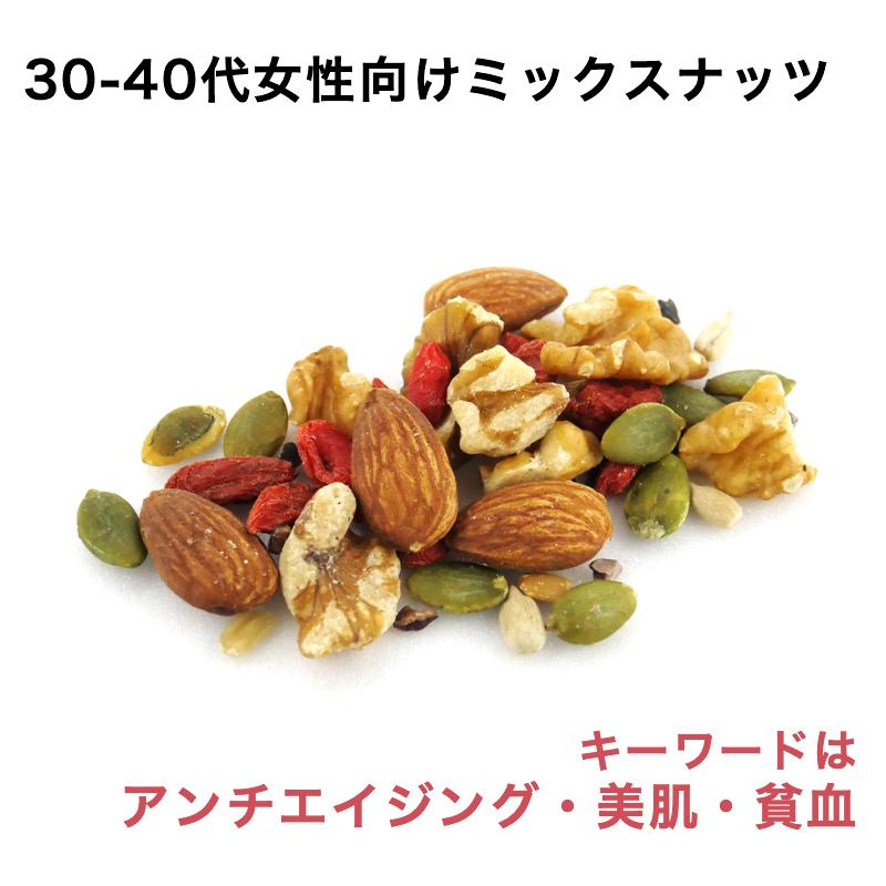 30-40代女性向けミックスナッツ