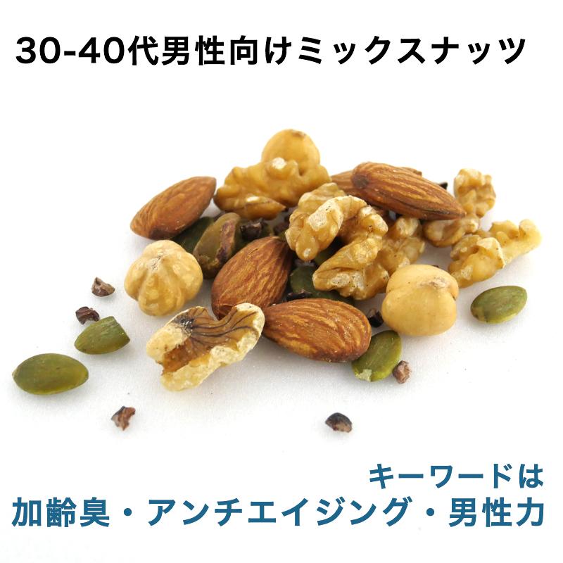 30-40代男性向けミックスナッツ