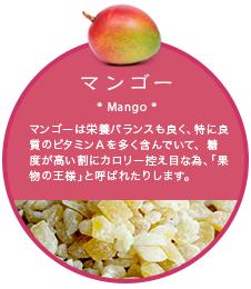 ドライフルーツ袋_マンゴー