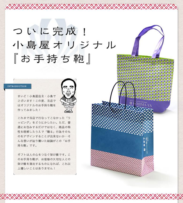 小島屋オリジナル お手持ちかばん (ショッピングバッグ)