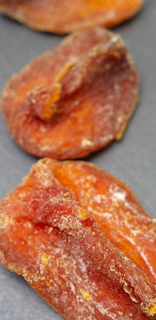 小島屋のドライ富有柿